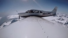 Tak polscy piloci przeprowadzają małe samoloty nad Atlantykiem.