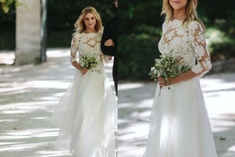 Kasia Tusk przekazała dla WOŚP suknię ślubną