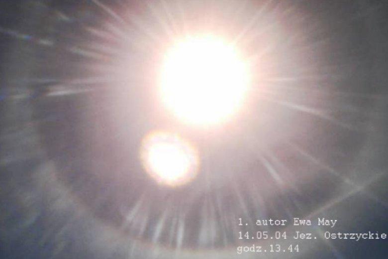 Wiele zjawisk, które obserwować można na niebie w tym miejscu jest trudnych do wyjaśnienia