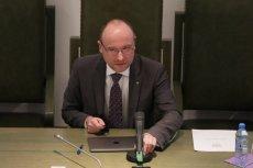 Kamil Zaradkiewicz wyłączył mikrofon sędziemu podczas wyborów prezesa SN.