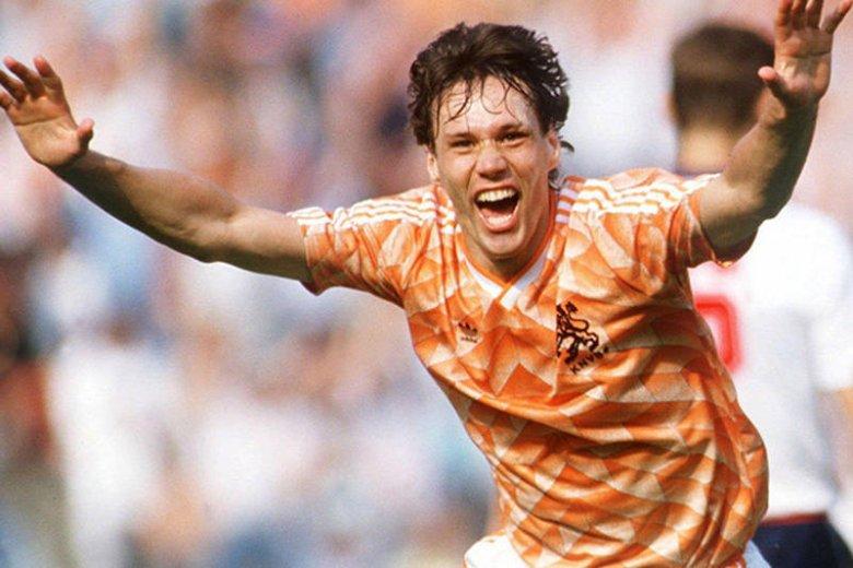 Marco van Basten w latach 80. i 90. był dla wielu najlepszym piłkarzem świata