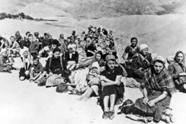 Polscy uchodźcy ze Związku Sowieckiego.
