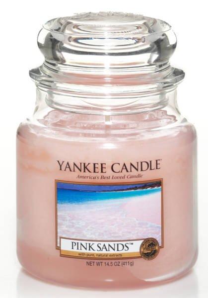 Pink Sands świeca zapachowa Yankee Candle