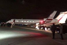 Andrzej Duda i Lech Wałęsa są już w Waszyngtonie. Wiadomo, co robili podczas lotu na pogrzeb George'a Busha.