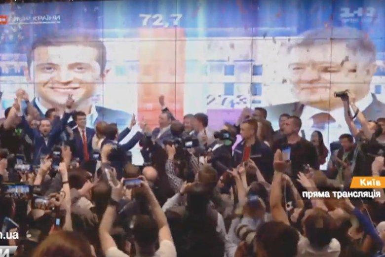 Wołodymyr Zełenski nowym prezydentem Ukrainy.