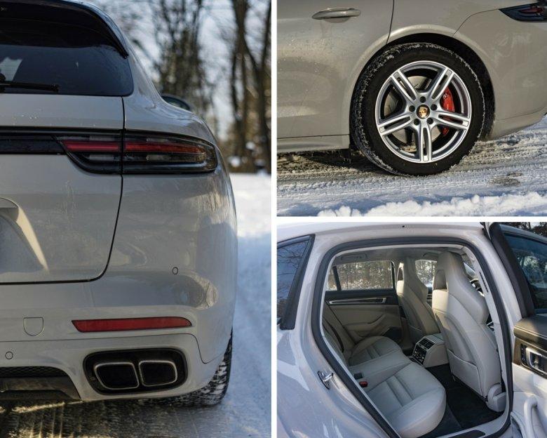 """Zimowe opony wydają się trochę zbyt """"baloniaste"""" do takiego auta, ale taki mamy klimat."""
