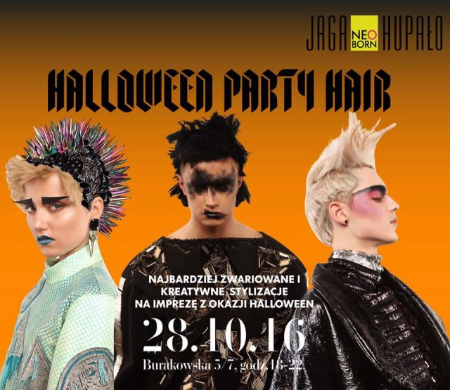 Halloween Party Hair