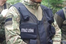 Kontrowersyjna naszywka na mundurze strażnika leśnego