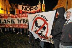 Narodowe Odrodzenie Polski na manifestacji we Wrocławiu