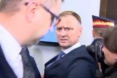 Po posiedzeniu komisji z udziałem Mariana Banasia – na sejmowym korytarzu doszło do przepychanek posła Sławomira Nitrasa z nieznanym towarzyszem prezesa NIK.