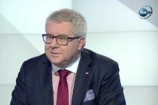 Ryszard Czarnecki nie chciał odpowiedzieć wprost, czy będzie pobierał świadczenie 500+.