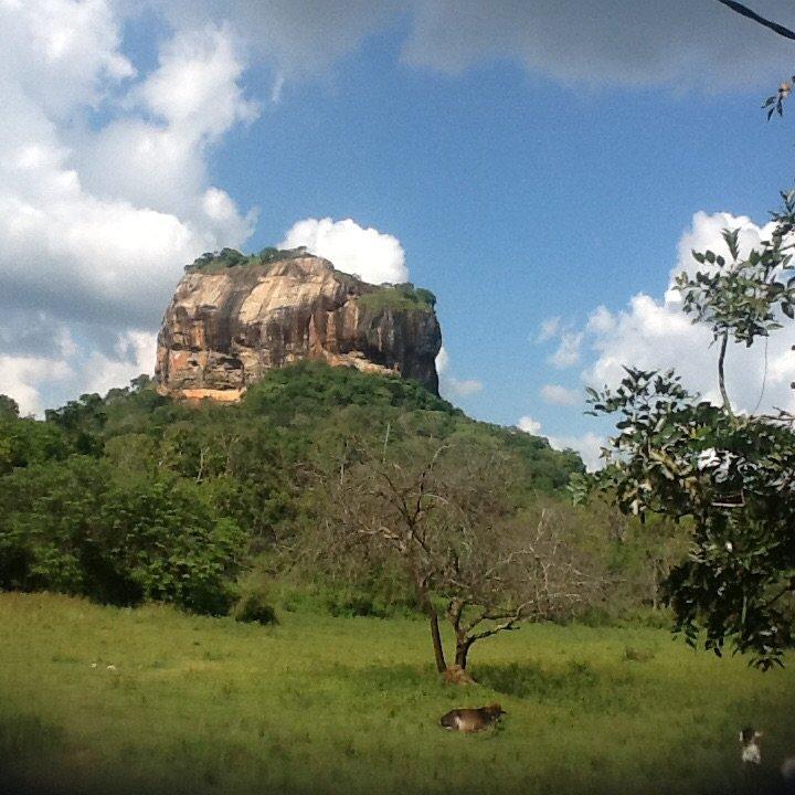 Sigirija, Lwia Skała, Srodkowa Sri Lanka