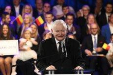 Jarosław Kaczyński na konwencji PiS w Warszawie pomylił imię Jolanty Brzeskiej.