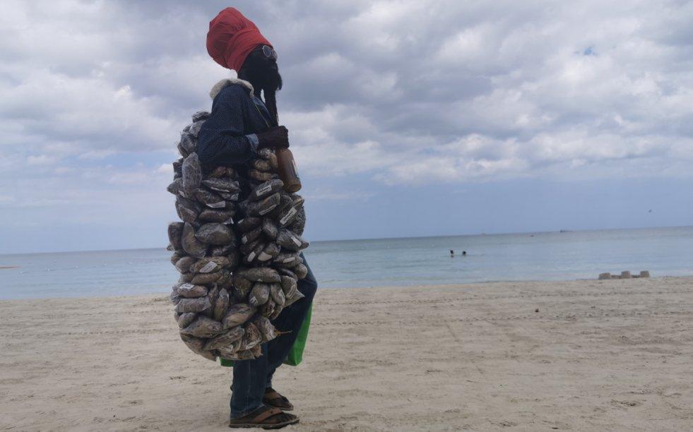 Nawet na Jamajce taki widok nie należy do codzienności.