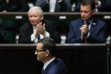 Mateusz Morawiecki opowiedział żart o Platformie Obywatelskiej dotyczący wieku emerytalnego.