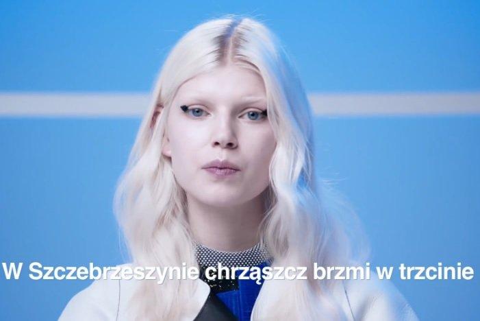 Nowe pokolenie polskich top modelek. Ola Rudnicka dla I-D.
