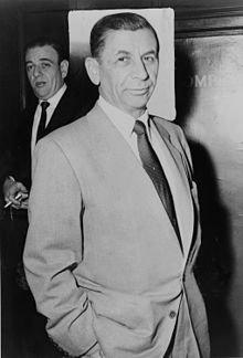 Meyer Lansky w 1958 roku.