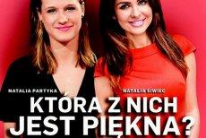 """Okładka najnowszego """"Newsweeka"""" z tenisistką stołową Natalią Partyką i celebrytką Natalią Siwiec"""