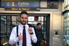 Patryk Jaki pojechał do Madrytu porównać metro madryckie z warszawskim