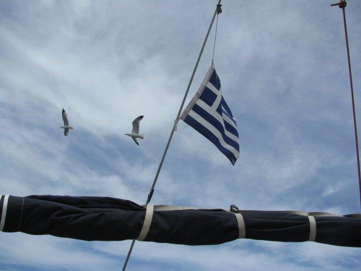 Na żaglach w Grecji.