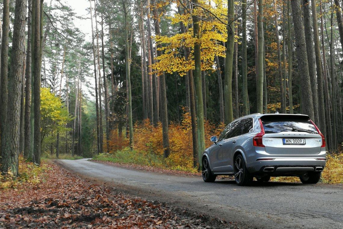Volvo XC90 w wersji hybrydowej.