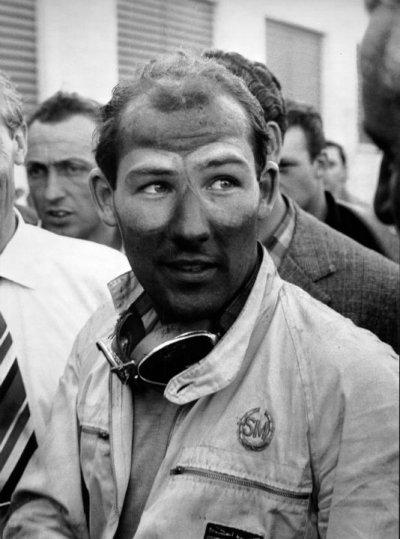 Sir Stirling Moss, jeden z ostatnich świadków wielkiej historii Mille Miglia. Tu po zwycięstwie w 1955 r.