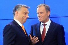 Donald Tusk w swoim przemówieniu nawiązał do poglądów Viktora Orbana.