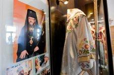 Na zdjęciu izba pamięci biskupa Mirona Chodakowskiego w prawosławnym monasterze w Supraślu pod Białymstokiem.