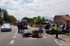 Prokuratura oskarża księdza o spowodowanie wypadku, w którym zginął motocyklista.