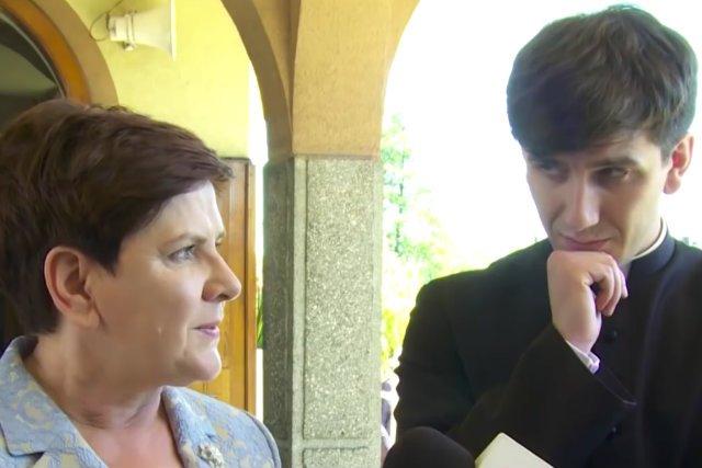 Beata i Tymoteusz Szydło. Młody kapłan odprawił w maju mszę prymicyjną