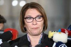 """Beata Mazurek nazwała Władysława Frasyniuka """"politycznym kretynem""""."""