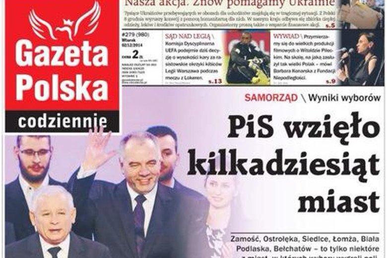 """""""Gazeta Polska Codziennie"""" zanotowała spadek sprzedaży"""