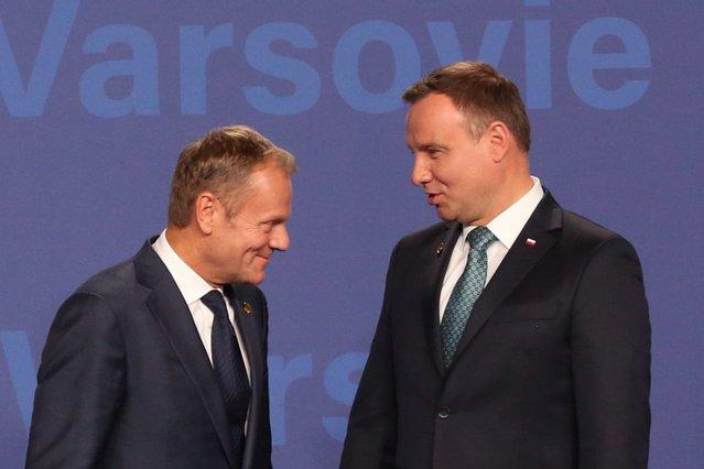 Najnowszy sondaż wskazuje, że starcie wyborcze Dudy i Tuska o fotel prezydencki ma jednoznacznego faworyta.