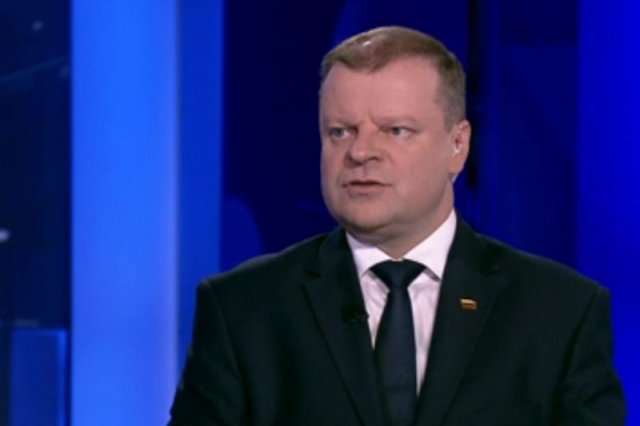 Premier Litwy nie okazywał aż tak wielkiego entuzjazmu w sprawie polskiej walki z Komisją Europejską, czy projektu Trójmorza.
