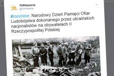 TVP Historia zaliczyło sporą wpadkę. Chcieli pokazać zbrodnie Ukraińców, a opublikowali zdjęcie ludzi zamordowanych przez Polaków.
