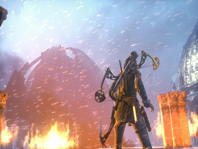 Screen z gry Rise of the Tomb Raider
