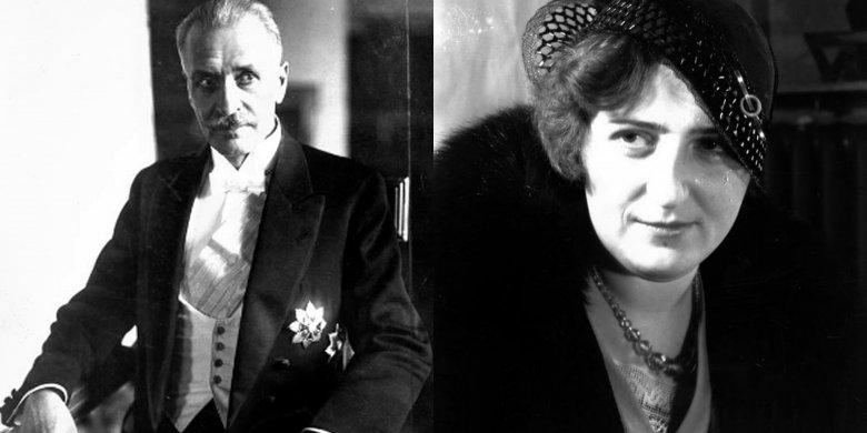 Ignacy Mościcki i Maria Dobrzańska.