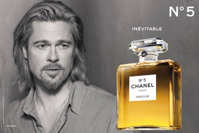 Tak, twarzą tego zapachu był również Brad Pitt