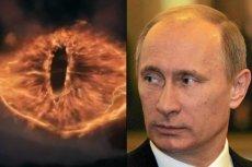 """Oko Saurona, które będzie promować rosyjską premierę najnowszego """"Hobbita"""", skojarzyło się krytykom Władimira Putina z osoba prezydenta Rosji"""