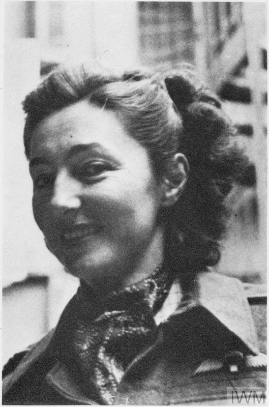 Portret Krystyny w Algierii, 1944 r.