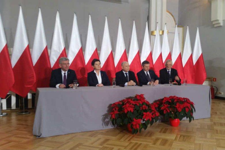 Jarosław Kaczyński pogroził opozycji prawem karnym.