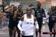 Eliud Kipchoge jako pierwszy człowiek na świecie przebiegł maraton w mniej niż dwie godziny