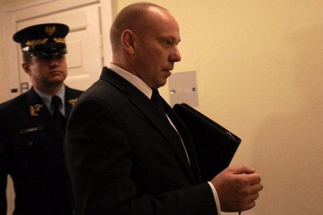 Gen. Piotr Pytel, były szef SKW.
