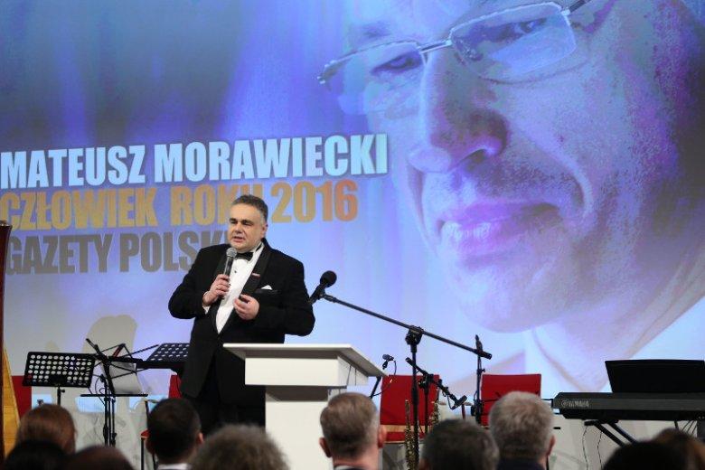 """Tomasz Sakiewicz na gali nagród klubów """"Gazety Polskiej"""""""