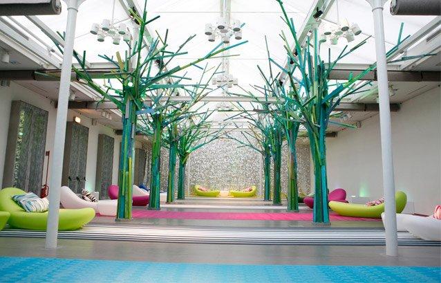 Bois de Bolon, ekspozycja, Salone del Mobile 2012