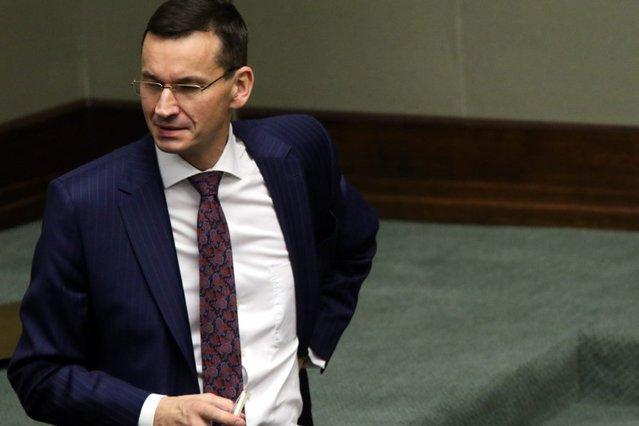 Morawiecki krytykuje ustawę PiS-u.