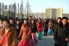 Takie tańce od lat praktykowane są w Korei Północnej właśnie 24 grudnia.