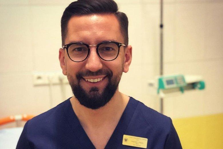 Wojciech Falęcki to wyjątkowy lekarz, który swoją wiedzą chętnie dzieli się na Instagramie