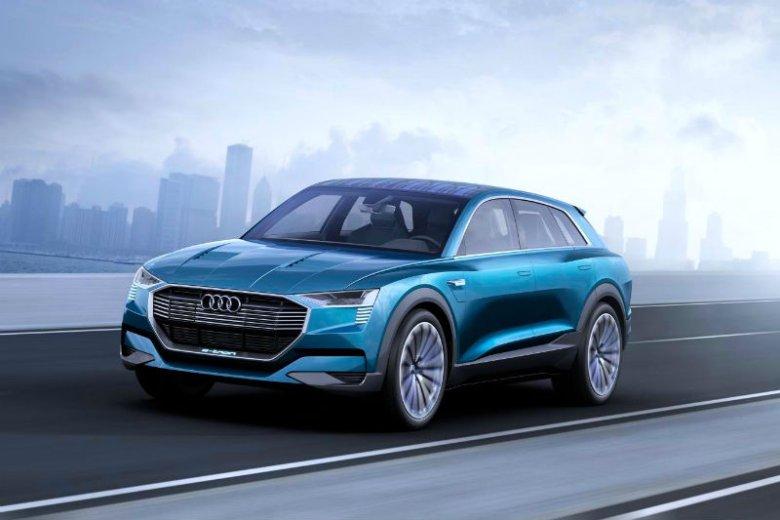 Koncept Audi e-tron Quattro...