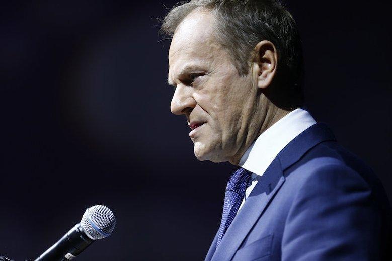 Donald Tusk odniósł się do afery z Piebiakiem.